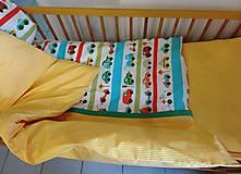 Textil - Obliečky do postieľky - autíčka - 9272361_