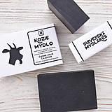 Drogéria - Kozie mydlo v krabičke: AKTÍVNE UHLIE & ČAJOVNÍK - 9272444_