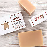 Drogéria - Kozie mydlo v krabičke: NATURAL - 9272847_