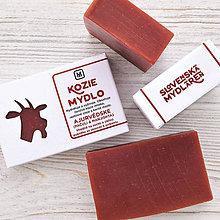 Drogéria - Kozie mydlo v krabičke: AJURVÉDSKE - 9272189_