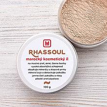 Suroviny - Rhassoul - marocký kozmetický íl 100g - 9272605_