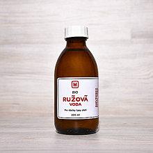 Suroviny - Bio kvetová voda RUŽA 200 ml - 9273587_