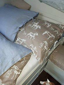 Textil - Detské posteľné obliečky Isabella's Horses - 9273776_