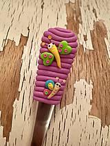 Pomôcky - lyžička s motýlikom - 9273269_