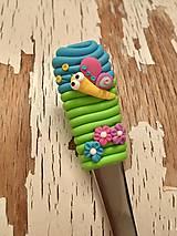 Pomôcky - lyžička s motýlikom II. - 9273282_