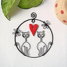 Pre zvieratká - mačky so srdiečkom - 9275852_