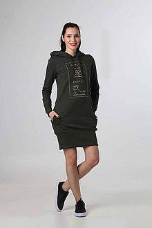 Šaty - Teplákové šaty Namasté - 9277010_