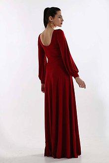 Šaty - Šaty Rose bordové - 9277225_