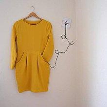 Šaty - úpletové šaty .Lola - 9275290_