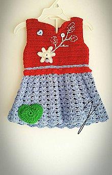 Detské oblečenie - Jarné šatky - 9276119_