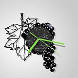 Grapes - vinylové hodiny (vinyl clocks)