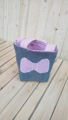 Detské tašky - Detská taška s mašľou - 9276516_