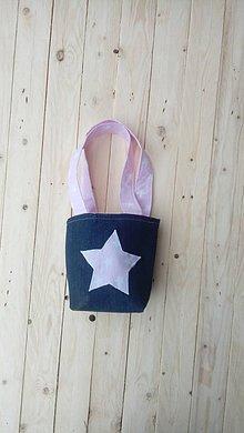 Detské tašky - Detská taška hviezda - 9276528_