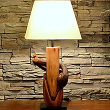 Svietidlá a sviečky - Stolová lampa DUB _ VINIČ - 9278565_