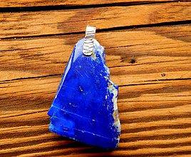 Náhrdelníky - Lapis Lazuli prívesok - 9278258_