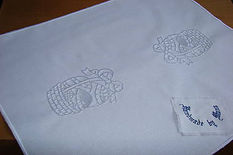 Úžitkový textil - Strojom vyšívaná dečka Veľká Noc - 9276215_