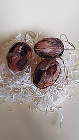 veľkonočné pierkové vajíčka na tvorenie