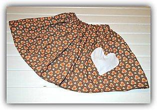 Detské oblečenie - Pískacia sukňa - 9277961_