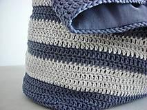 Veľké tašky - Námornická taška - 9276359_