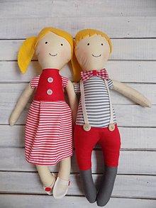 Hračky - Adam a Ela idú na výlet.... - 9275257_