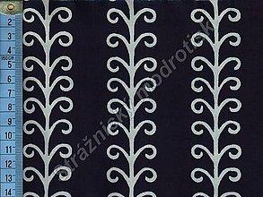 Textil - Metráž bavlna MODROTLAČ, vzor 52 - 9275531_