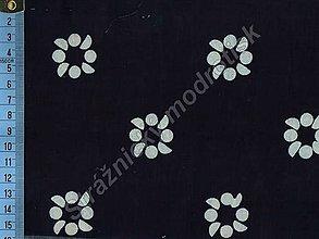 Textil - Metráž bavlna MODROTLAČ, vzor 67 - 9275657_