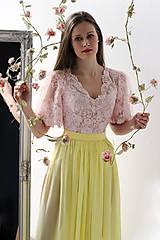 Sukne - Šifónová sukňa s vlečkou rôzne farby - 9276522_