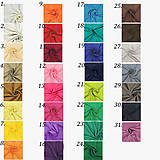 Sukne - Šifónová sukňa s vlečkou rôzne farby - 9276525_