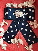 Odznaky/Brošne - Hand Made mašľa, bow do košelí - 9274161_