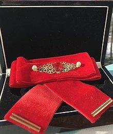 Odznaky/Brošne - Hand Made mašľa, bow na košeľu - 9274173_