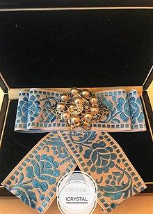 Odznaky/Brošne - Hand Made mašľa, bow na košeľu - 9274185_