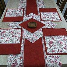 Úžitkový textil - Terakota farba zeme - prestieranie 25x35 - 9274077_