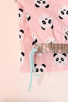 """Detské oblečenie - pyžamové nohavice """"Panda"""" - 9278670_"""