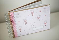 Papiernictvo - Scrapbook fotoalbum - baletka - 9281585_