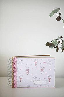 Papiernictvo - Scrapbook fotoalbum - baletka - 9281583_