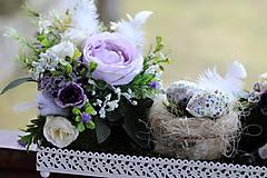 Dekorácie - Veľkonočný aranžmán - 9279930_