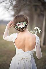 Ozdoby do vlasov - Kvetinová spona - 9278761_