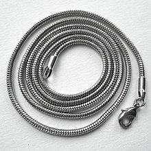 Komponenty - Hadia retiazka-1ks (1,7mm/56cm-platina) - 9282187_
