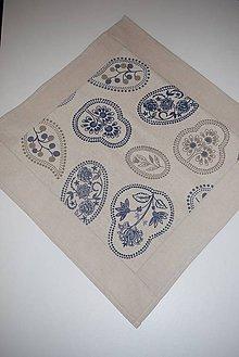 Úžitkový textil - STŘEDOVÝ UBRUS ..ornamenty - 9279812_