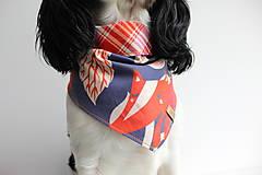 Pre zvieratká - Foxy - Obojstranná šatka pre psíkov - 9280501_