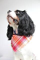 Pre zvieratká - Foxy - Obojstranná šatka pre psíkov - 9280550_