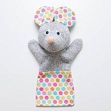 Hračky - Maňuška myška - 9282067_