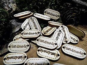 Galantéria - drevená ozdoba Hand made - 9281518_