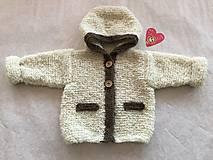 Detské oblečenie - Detský kabátik s kapucou - 9279036_