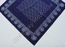 Úžitkový textil - Ubrus 95 x 95 cm MODROTLAČ_více variant - 9279592_