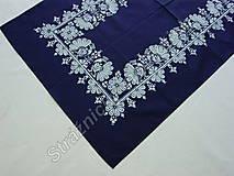 Úžitkový textil - Ubrus 70 x 120 cm MODROTLAČ_více variant - 9279609_