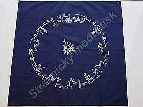 Úžitkový textil - Ubrus 80 x 80 cm, velikonoční - 9279633_