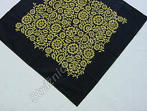 Úžitkový textil - Ubrus 80 x 80 cm MODROTLAČ_více variant - 9279647_