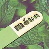 Dekorácie - Drevený bylinkový zápich MINIMALISTA - 9282536_