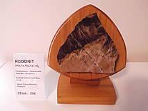 Dekorácie - Polodrahokam RODONIT - 9279716_